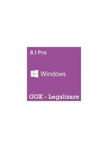 Microsoft Windows 8.1 Pro, Türkçe, 4Yr-00157, 64 Bit, Get Genuine Kit (Ggk) Renkli